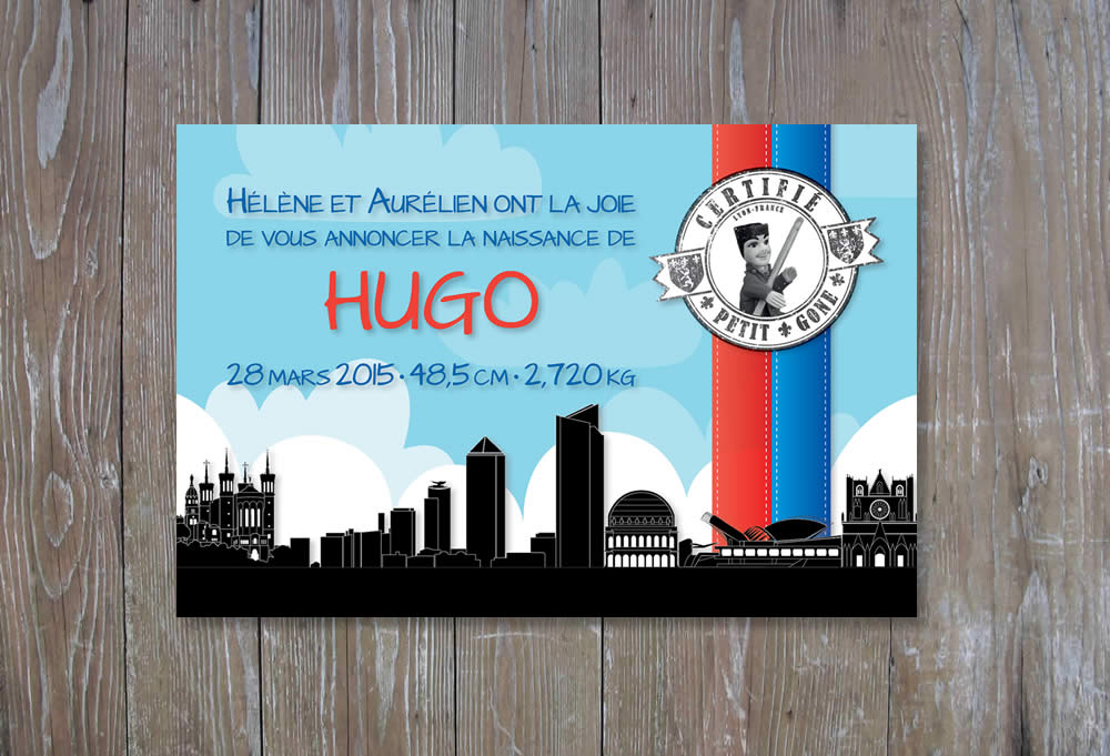 Faire-Part : Hugo