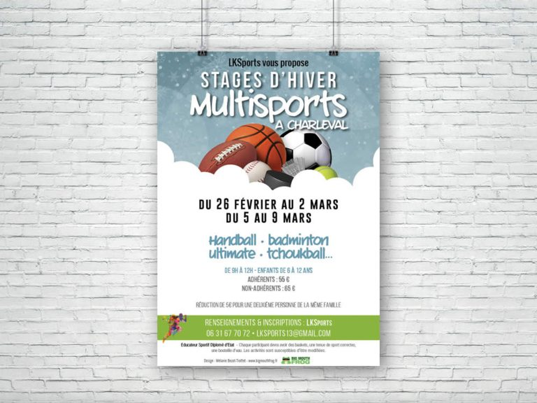 Stages MultiSports – Vacances d'hiver 2018