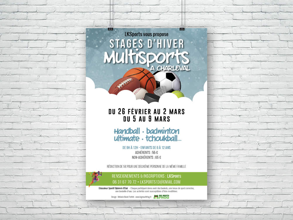 Stage Multisports vacances d'hiver 2018