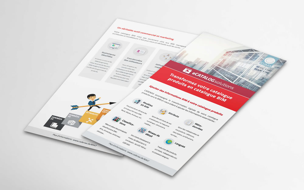 Flyer – eCATALOGsolutions / BIM