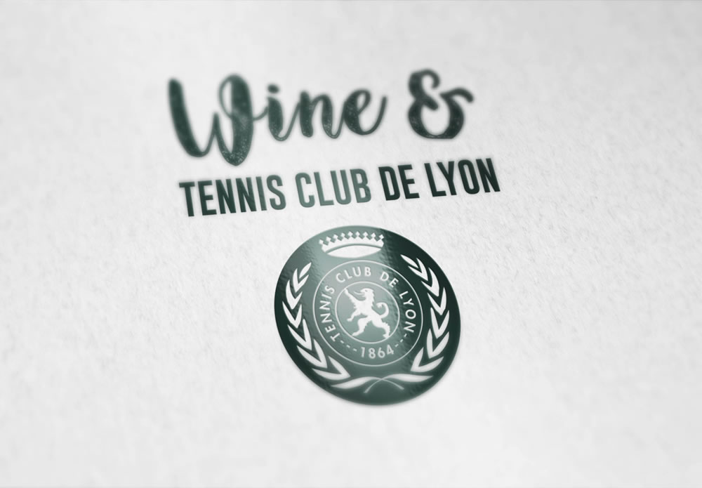 Logo : Wine & Tennis Club de Lyon
