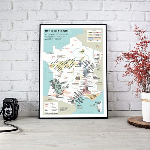 map-of-french-wines-metro-style-english-50x70cm-bigmouthfrog-rouge
